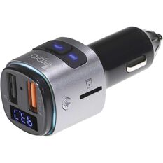 Aerpro Bluetooth Hands Free Car Kit with FM Transmitter and Fast Charge FMT255, , scaau_hi-res