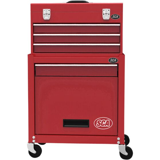 SCA Tool Cabinet Combo 4 Drawer 21 Inch, , scaau_hi-res