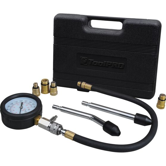 ToolPRO Compression Tester Kit 8 Piece, , scaau_hi-res