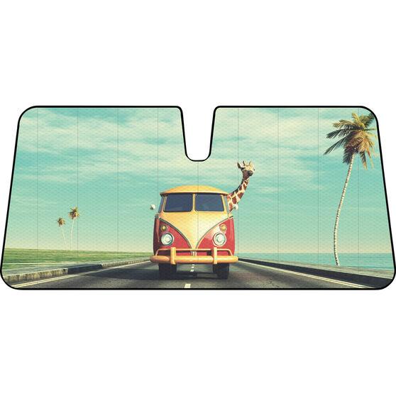 Giraffe Combi Sunshade - Fashion, Accordion, Front, , scaau_hi-res