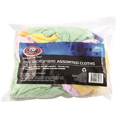 SCA Microfibre Assorted Cloths - 10 Pack, , scaau_hi-res