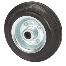 SCA Wheel Metal Rim - 125 x 35mm, Rubber, , scaau_hi-res