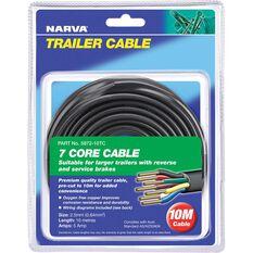 Narva Trailer Cable - 5 AMP, 2.5mm, 10m, 7 Core, , scaau_hi-res