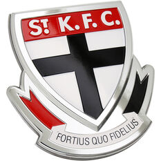 St Kilda AFL Supporter Logo - 3D Chrome Finish, , scaau_hi-res