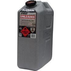 Platinum Jerry Can - Petrol, 20 Litre, , scaau_hi-res