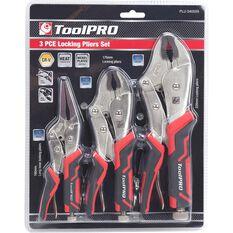 ToolPRO Locking Plier Set - 3 Pieces, , scaau_hi-res