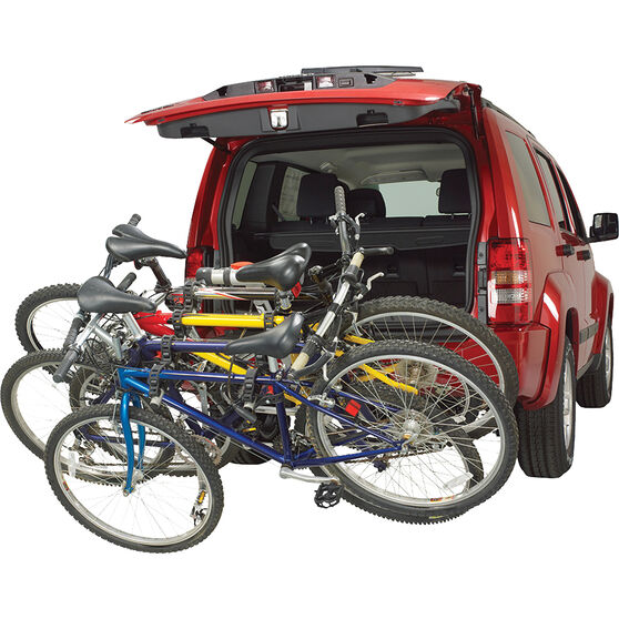 Rola Folding Bike Carrier 4 Bike Hitch Mount, , scaau_hi-res