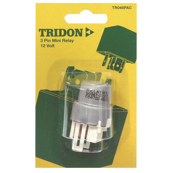 Tridon Mini Relay - 22 AMP, 3 Pin, , scaau_hi-res