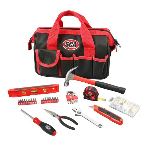 SCA Handyman Tool Set with Bag - 141 Piece, , scaau_hi-res