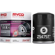 Ryco Syntec Oil Filter Z547ST (Interchangeable with Z547), , scaau_hi-res
