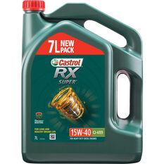 Castrol RX Super Diesel Engine Oil - 15W-40, 7 Litre, , scaau_hi-res
