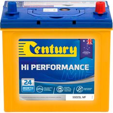 Century Hi Performance Car Battery 55D23L MF, , scaau_hi-res