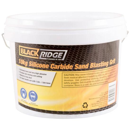 Blackridge Sand Blasting Grit - Silicone Carbide 10kg, , scaau_hi-res