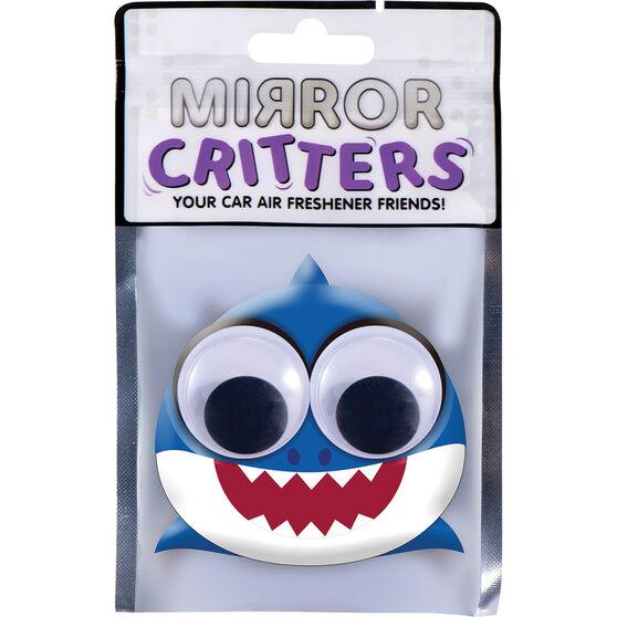 Mirror Critter Air Freshener - Baby Shark Ocean Breeze, , scaau_hi-res