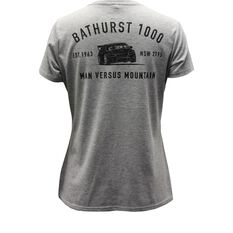 Man Vs Mountain Women's V-Neck T-Shirt Grey 8, , scaau_hi-res