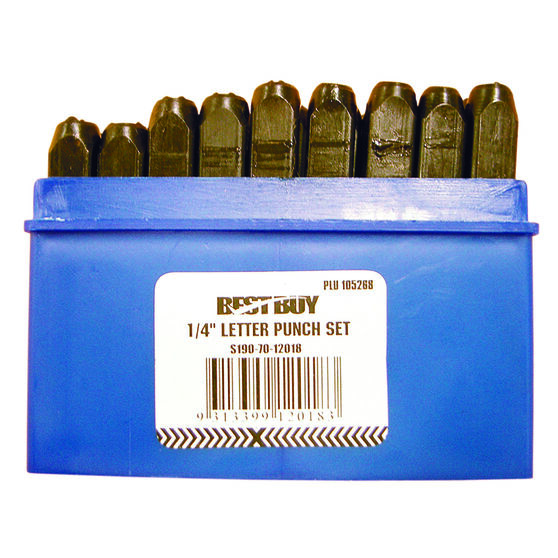 Best Buy Letter Punch Set - 6mm, , scaau_hi-res