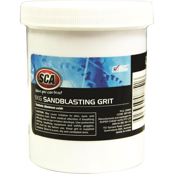 Blackridge Sandblasting Grit - 1kg, , scaau_hi-res