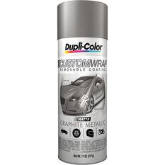 Dupli-Color Aerosol Paint Custom Wrap Graphite Metallic 311g, , scaau_hi-res