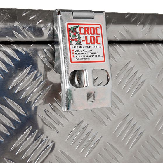 Thunderbox Tool Box - Aluminium Checkerplate, 114 Litre, , scaau_hi-res