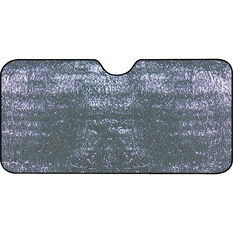 Best Buy Sunshade - Silver, Single Sided, Accordion, Front, , scaau_hi-res