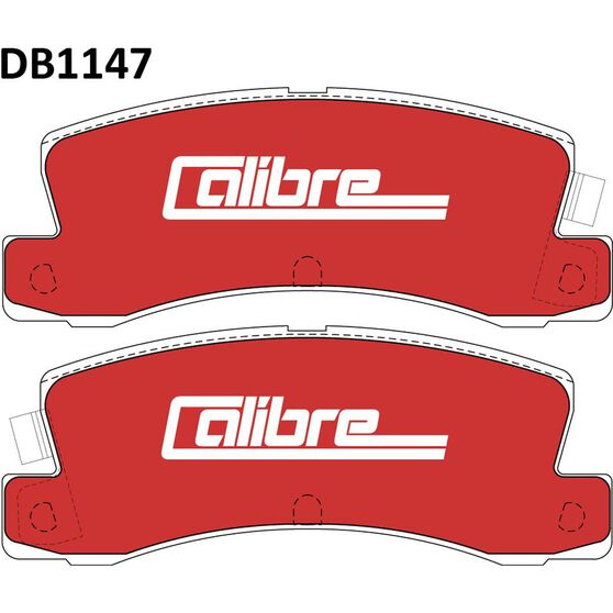 Calibre Disc Brake Pads - DB1147CAL, , scaau_hi-res