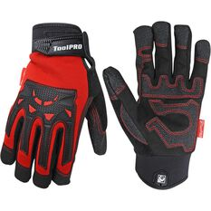 ToolPRO Work Gloves - Mechanics, Large, , scaau_hi-res