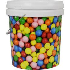 Designer Pail Bucket 'Gum Ball' - 15L, , scaau_hi-res