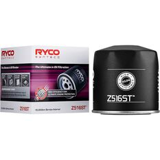 Ryco Syntec Oil Filter Z516ST (Interchangeable with Z516), , scaau_hi-res