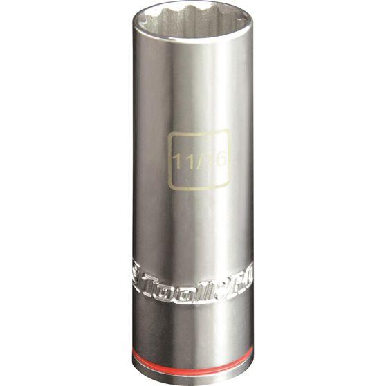 ToolPRO Single Socket - Deep, 1 / 2 inch Drive, 11 / 16 inch, , scaau_hi-res