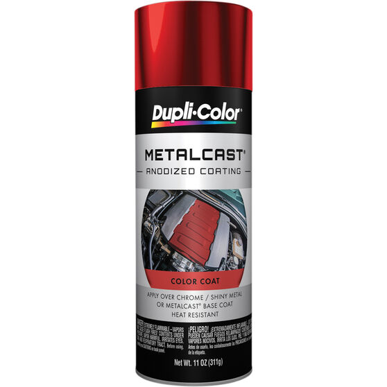 Dupli-Color Metalcast Aerosol Paint Enamel Red Anodised 311g, , scaau_hi-res
