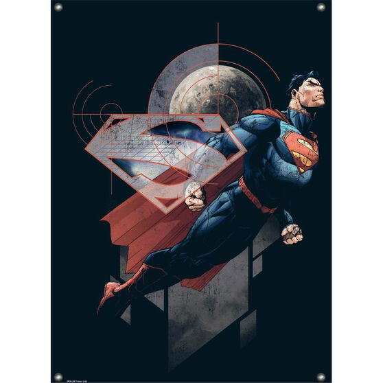 Metal Sign - Superman, , scaau_hi-res