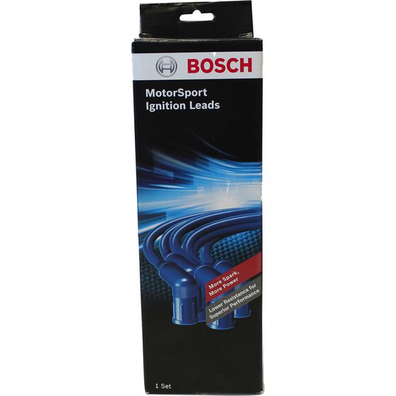 Bosch Motor Sports Ignition Lead Kit - Blue, B6025HP, , scaau_hi-res
