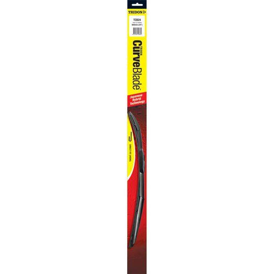 Tridon CurveBlade Single Wiper - 24in, , scaau_hi-res