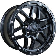 Alloy Wheel 4 Piece Set 12 Spoke 17 Inch, , scaau_hi-res