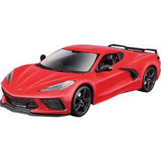 Die Cast 2020 Corvette Sting Ray 1:18 Scale Model, , scaau_hi-res