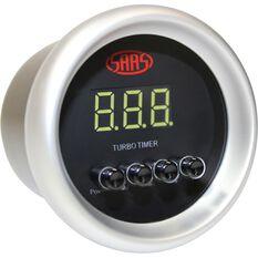 Digital Turbo Timer Series II 52mm, Black, , scaau_hi-res