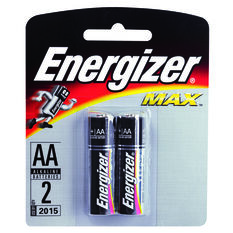 Energizer Max AA Batteries - 4 Pack 4 Pack, , scaau_hi-res
