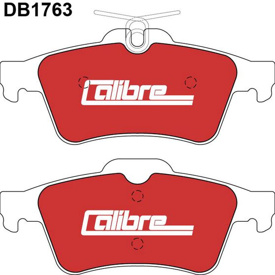 Calibre Disc Brake Pads - DB1763CAL, , scaau_hi-res