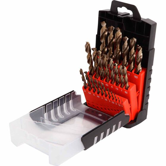 Cobalt Drill Bit Set >> Toolpro Cobalt Drill Bit Set 25 Piece