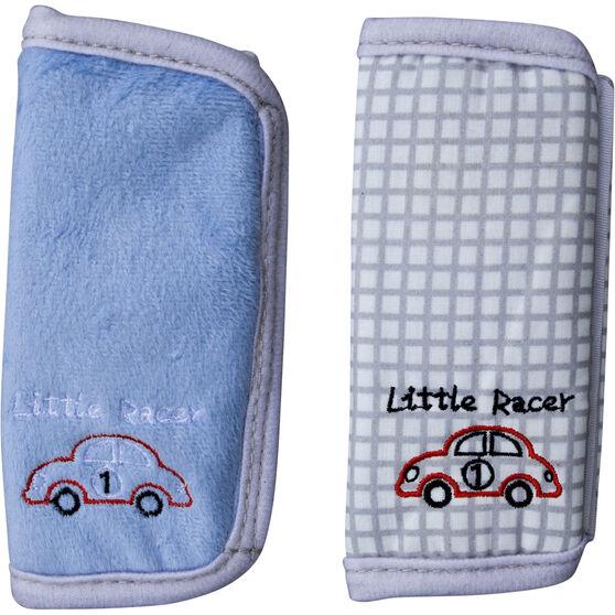 Cabin Crew Kids Seat Belt Buddies - Blue & Grey, Pair, , scaau_hi-res