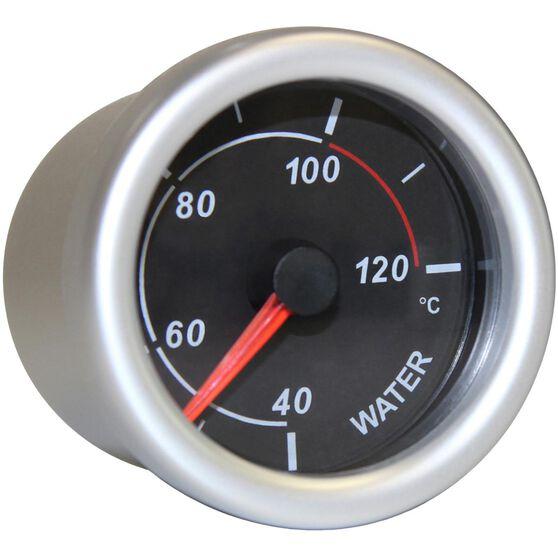 autoline water temperature gauge - black, 52mm, , scaau_hi-res