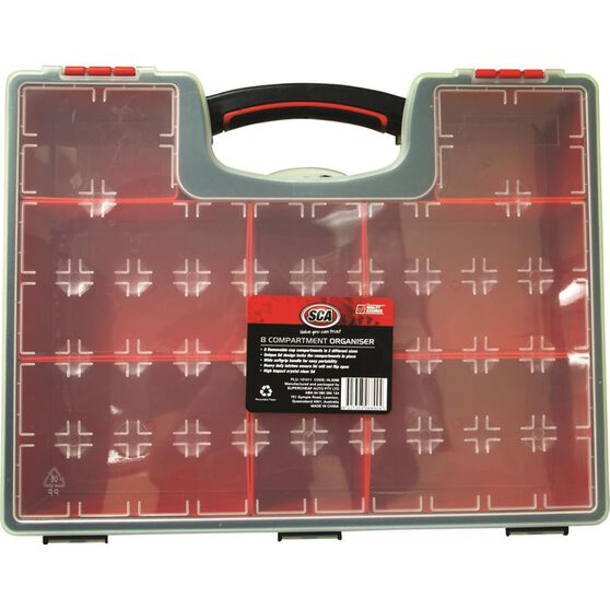 SCA Removable Tool Organiser - 8 Compartment, , scaau_hi-res
