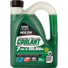 Nulon Green Premium Long Life Coolant Concentrate 2.5 Litre, , scaau_hi-res