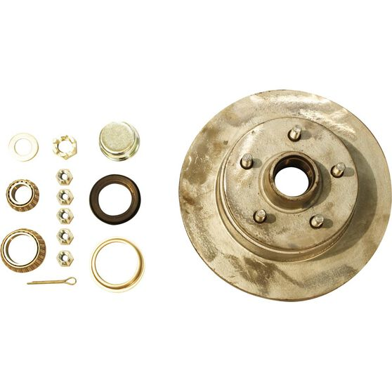 Trojan Marine Trailer Hub Kit - HT Holden, 255mm, , scaau_hi-res