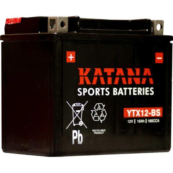 Katana Powersports Battery YTX12-BS, , scaau_hi-res