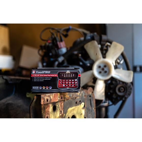 ToolPRO Sump Plug Removal - 3 / 8 inch, 17 Piece, , scaau_hi-res