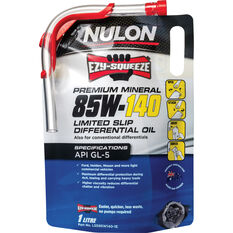 Nulon EZY-SQUEEZE Limited Slip Differential Oil 85W-140 1 Litre, , scaau_hi-res