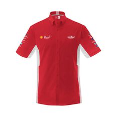 Shell V-Power Racing Team Men's 2020 Pit Shirt Red S, Red, scaau_hi-res