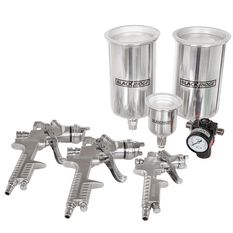 Blackridge Air Spray Gun Kit, HVLP - 4 Piece, , scaau_hi-res