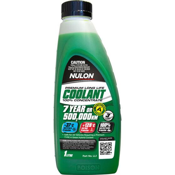 Nulon Long Life Anti-Freeze / Anti-Boil Concentrate Coolant - 1 Litre, , scaau_hi-res